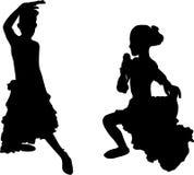 испанский язык flamenco Стоковые Фотографии RF
