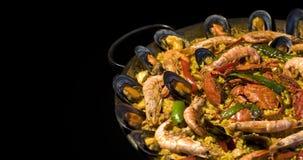 испанский язык paella Стоковое Изображение