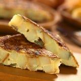 испанский tortilla стоковая фотография