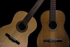 2 испанских гитары Стоковые Изображения RF