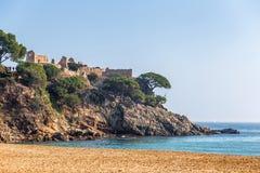 Испанское прибрежное Стоковое Изображение RF