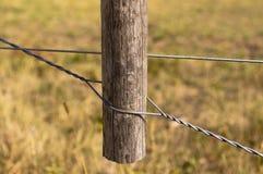 Испанское tightener провода загородки стиля брашпиля стоковое изображение
