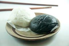 Испаренная плюшка - черно-белая Стоковая Фотография