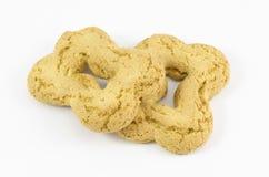 2 испаренного печенья Стоковые Фото