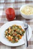 Испаренные овощи Стоковая Фотография RF