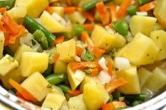 испаренные овощи Стоковые Изображения