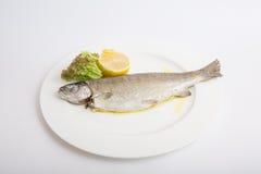 Испаренные рыбы форели Стоковые Изображения