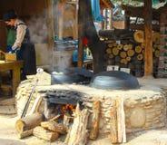 Испаренный магазин плюшки вещества в острове nami Стоковое Изображение RF