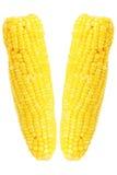 2 испаренных corns изолированного на белизне Стоковые Фотографии RF