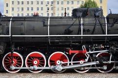 Испаритесь колеса поезда стоковые изображения rf