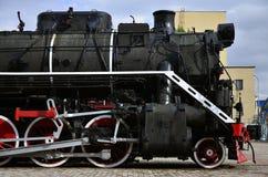 Испаритесь колеса поезда стоковые фотографии rf