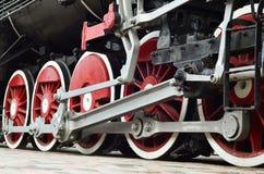 Испаритесь колеса поезда стоковые изображения