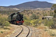 испаритесь поезд стоковая фотография