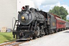 Испаритесь поезд от Chattanooga, TN к Summerville, GA Стоковые Изображения RF
