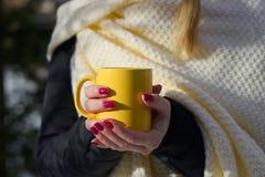 испаряться кофейной чашки горячий Стоковые Фотографии RF