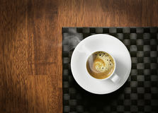 испаряться espresso горячий Стоковое фото RF