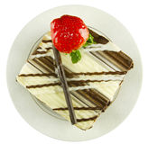 испеките белизну шоколада темную Стоковые Фотографии RF