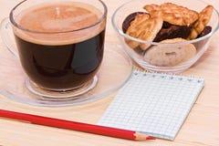 испеките красный цвет пер кофе Стоковые Изображения RF