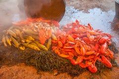 испеките омара стоковая фотография rf