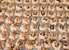 Испеките печенья рождества на сезон рождества в хлебопекарне стоковые изображения rf