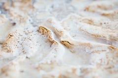 Испеките с взбитый cream замораживать, сало, сало тучного тензида растворяя Стоковая Фотография RF