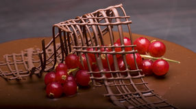 испеките шоколад Стоковое Фото