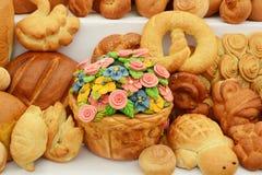 Испеченная еда Стоковая Фотография RF