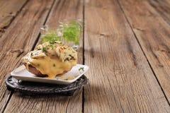 испеченная картошка двойника сыра дважды Стоковое Изображение