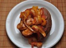испеченная картошка Стоковое Фото