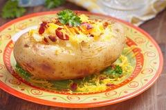 испеченная картошка Стоковые Фото