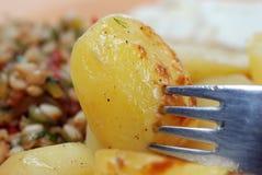 испеченная картошка стоковые изображения rf