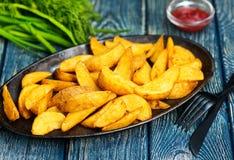 испеченная картошка Стоковые Фотографии RF