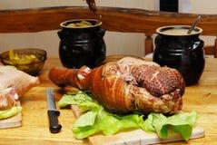 испеченная свинья Стоковая Фотография RF