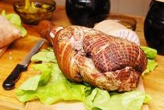 испеченная свинья Стоковое фото RF