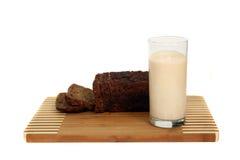 испеченное молоко Стоковое фото RF
