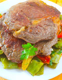 Испеченное мясо Стоковые Фото