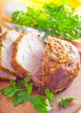 Испеченное мясо Стоковое Изображение