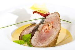 Испеченное мясо Стоковое Изображение RF