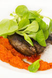 испеченное мясо Стоковая Фотография