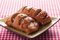 Испеченное печенье в шаре Стоковые Изображения RF