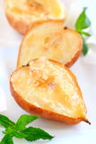 Испеченные груши и яблоки Стоковая Фотография RF