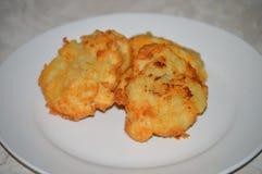 Испеченные картофельные пюре Стоковые Изображения