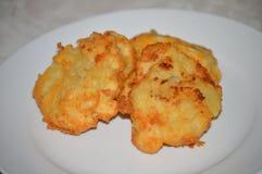 Испеченные картофельные пюре Стоковая Фотография