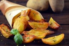 испеченные картошки Стоковые Изображения RF