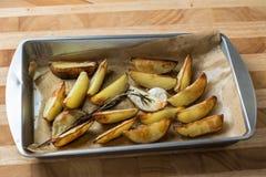 испеченные картошки Стоковое Фото