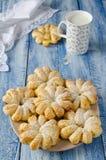 Испеченные кольца печенья слойки ананаса Стоковые Фото