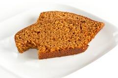 испеченные ломтики 2 тыквы хлеба свеже Стоковые Фото