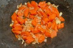 испеченные моркови Стоковое Изображение RF