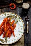 испеченные моркови Стоковые Изображения