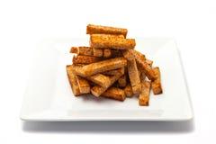 Испеченные мякиши хлеба Стоковые Фото